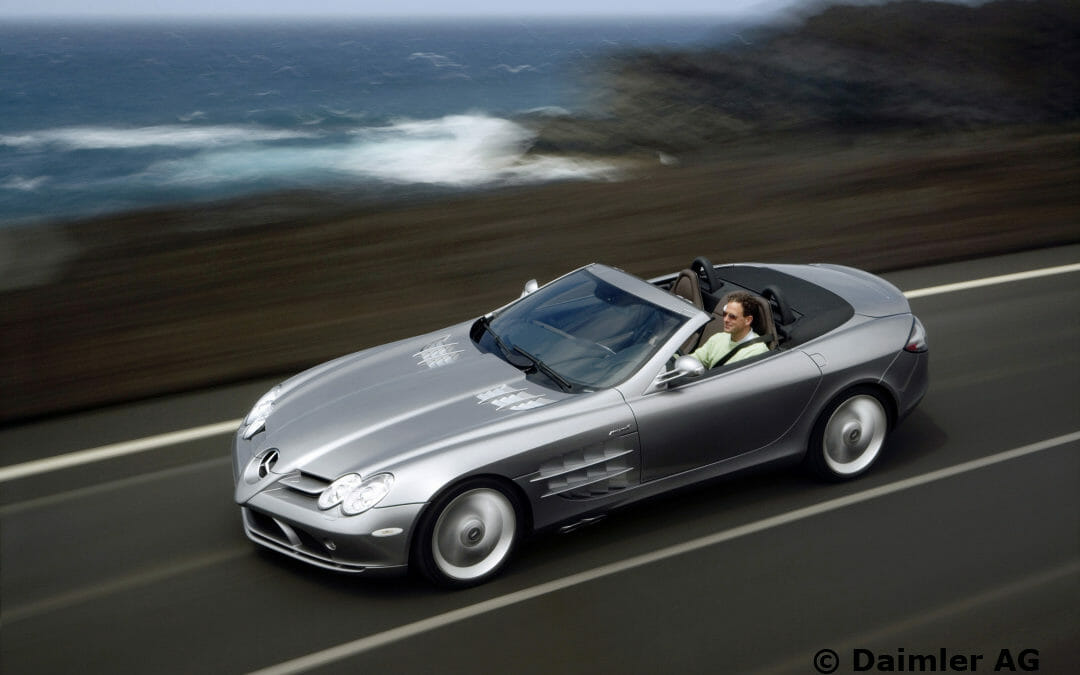 Vision SLR sports car study in Detroit 1999