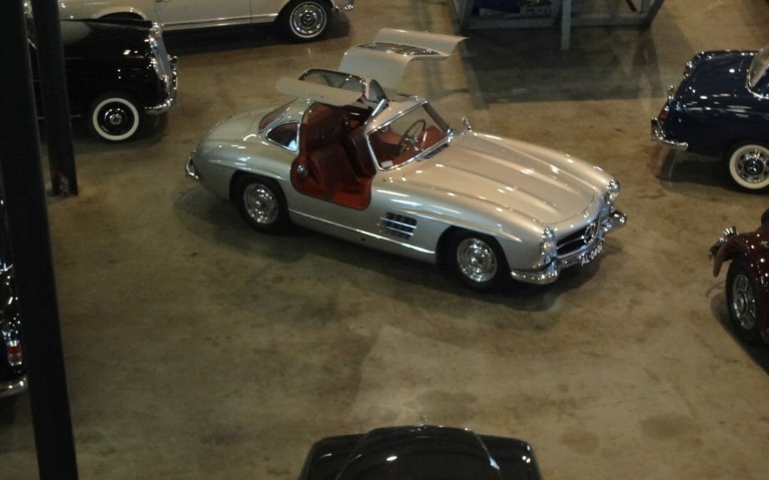 Mercedes-Benz legendary gullwing coupé