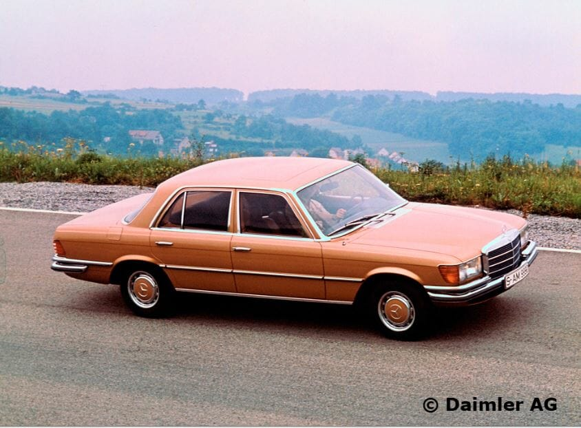 W116-450SE, European car of the year 1974