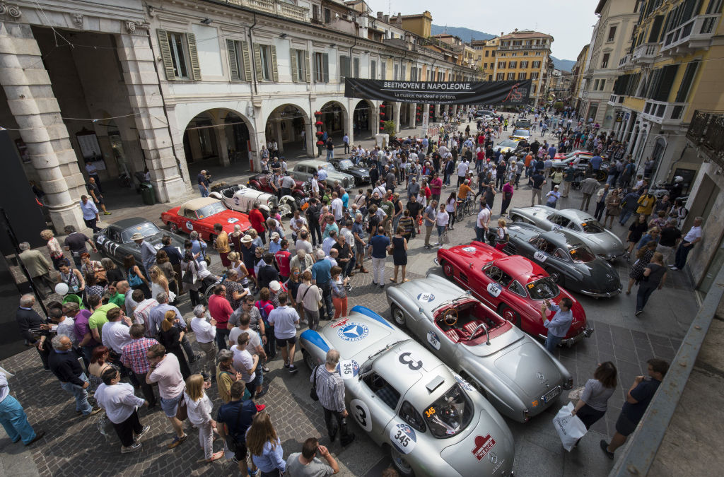 Mercedes-Benz is an Automotive Sponsor of the 2018 Mille Miglia: