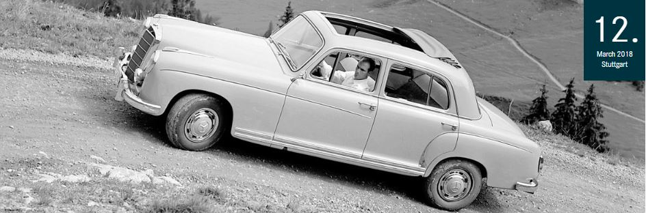 Important Mercedes-Benz innovations from the year 1958