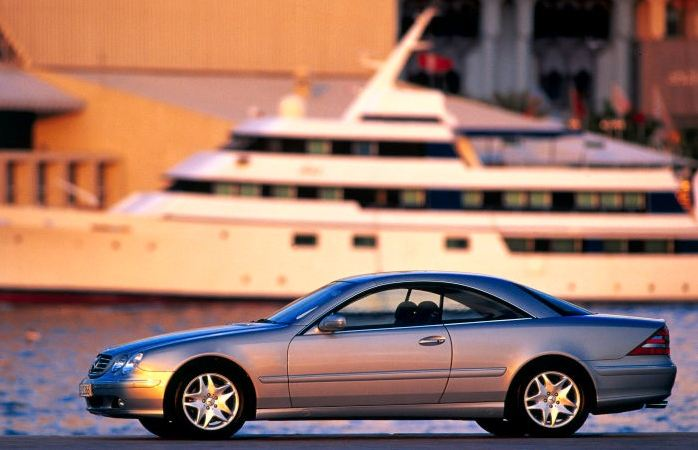 Mercedes-Benz CL of the C 215 model series: