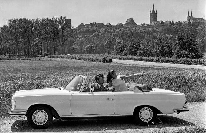 1969, new 3.5 V8 Engine for the W109 sedan and W111 Cabrio & Coupé.