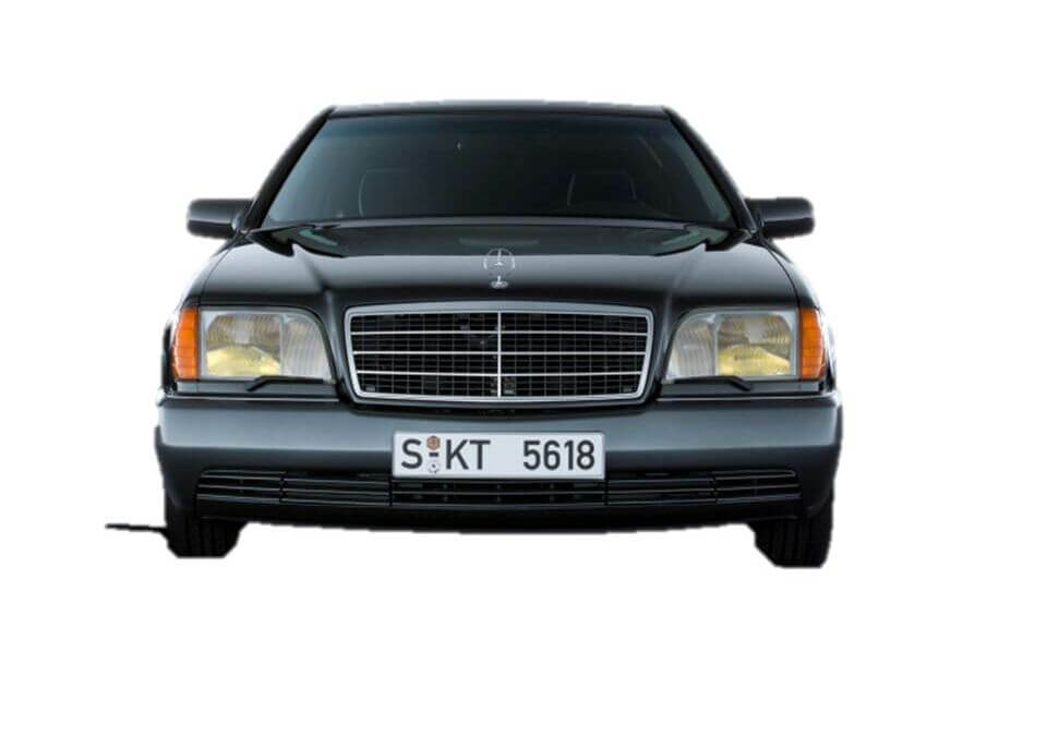 MERCEDES-BENZ W140 nearly 30 years old