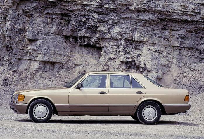 A rare W126 560SE